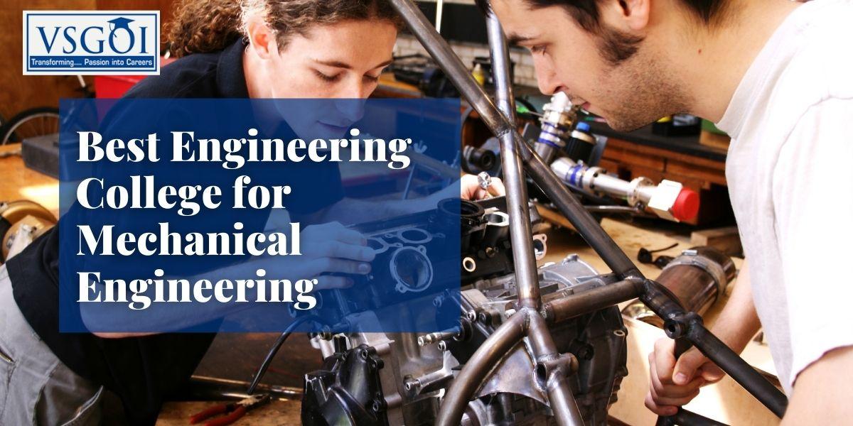 Best Engineering College for Mechanical Engineering